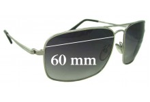Tom Ford Gregoire TF190 Replacement Sunglass Lenses - 60mm Wide