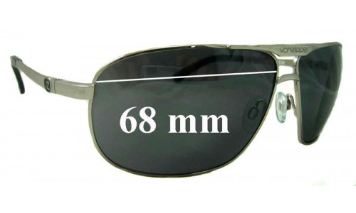 Von Zipper Newer Skitch Replacement Sunglass Lenses - 68mm across