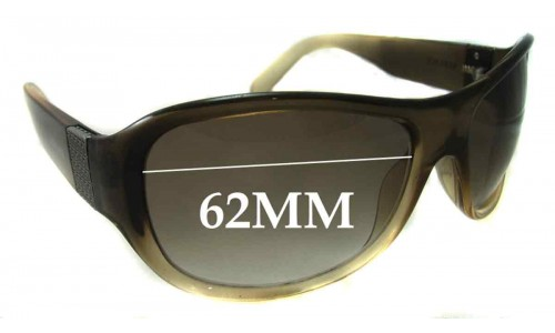 Versace MOD 4042 Replacement Sunglass Lenses - 62mm Wide