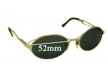 Vogue VO3233 Replacement Sunglass Lenses - 52mm Wide