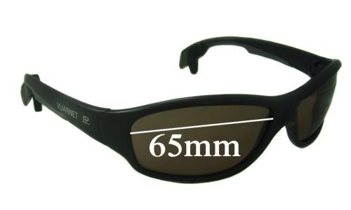 Vuarnet Pouilloux PA 113 Replacement Sunglass Lenses - 65mm Wide