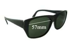 Sunglass Fix Replacement Lenses for Yves Saint Laurent YSL 8920 - 57mm Wide