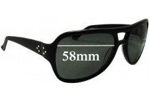 Blinde Ruben the Cuban Replacement Sunglass Lenses - 58mm wide