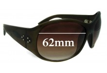 Sunglass Fix New Replacement Lenses for Blinde Unknown Model - 62mm Wide