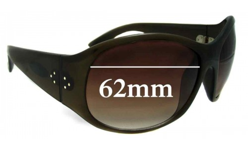 Blinde Unknown Replacement Sunglass Lenses - 62mm wide