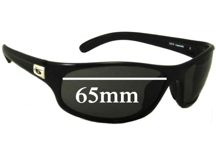 SFX Replacement Sunglass Lenses fits Bolle Viteese 68mm Wide