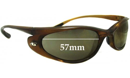 Bolle Downdraft Replacement Sunglass Lenses 57mm wide
