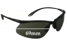 91942b9f81 Bolle Kicker Replacement Sunglass Lenses 69mm wide