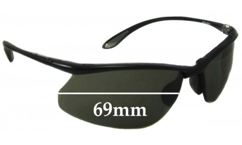 Bolle Kicker Replacement Sunglass Lenses 69mm wide