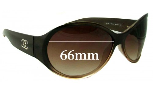 Chanel 6016 Replacement Sunglass Lenses - 66mm wide