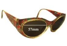Christian Lacroix 7390 New Sunglass Lenses - 57mm Wide