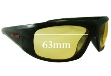 Dirty Dog Gangster Replacement Sunglass Lenses - 63mm