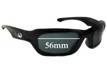 Dragon Ghost New Sunglass Lenses - 56mm wide