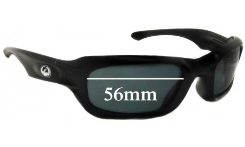 Dragon Ghost Replacement Sunglass Lenses - 56mm wide