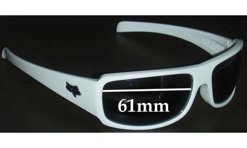 Fox The Matter Replacement Sunglass Lenses - 61mm Wide