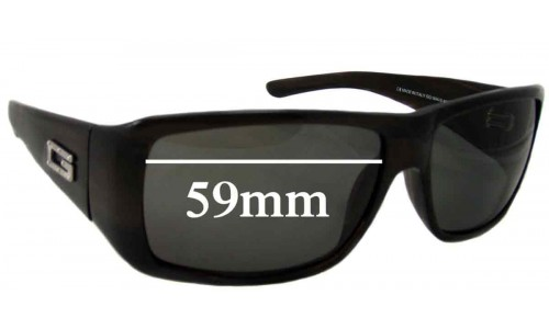 Gucci GG 1494/S Replacement Sunglass Lenses - 59mm wide
