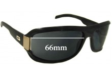 Gucci GG1511 NS or GG1511S Replacement Sunglass Lenses - 66mm wide