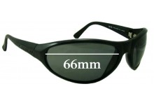 Legend Blow Fly Replacement Sunglass Lenses - 66mm Wide