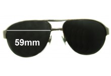 Momo Design Eagle Replacement Sunglass Lenses- 59mm wide *MUST BE SENT TO OUR FACILITIES FOR CUSTOM FITTING*