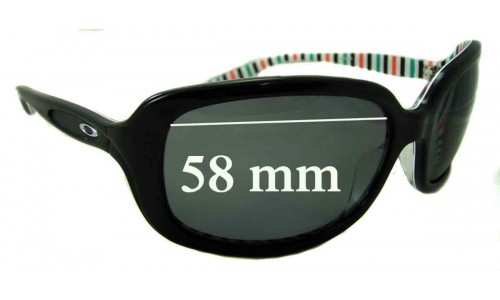 Oakley Disguise New Sunglass Lenses - 58mm wide