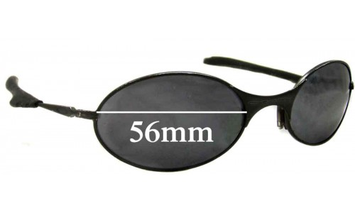 Oakley E Wire Generation 2 Replacement Sunglass Lenses - 56mm wide