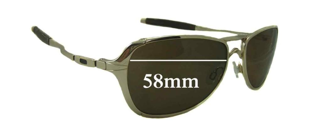 Oakley Felon Replacement Sunglass Lenses - 58mm Wide