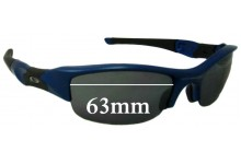 Oakley Flak Replacement Sunglass Lenses - 63mm Wide
