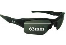 Oakley Flak XLJ Replacement Sunglass Lenses - 63mm Wide