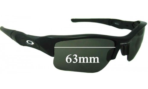 Sunglass Fix Replacement Lenses for Oakley Flak XLJ - 63mm Wide