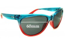 Oakley Fringe Replacement Sunglass Lenses - 60mm Wide