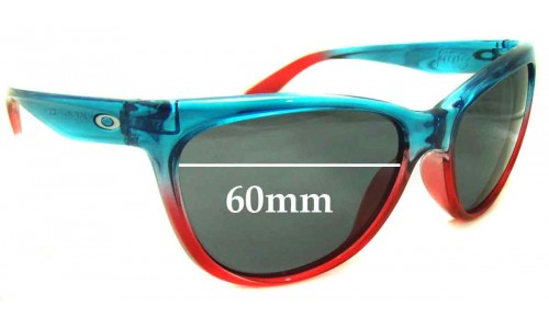 Oakley Fringe New Sunglass Lenses - 60mm Wide