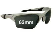 Oakley Half Jacket 2 XL Replacement Sunglass Lenses 62mm wide