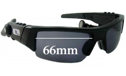 Oakley O ROKR Thump Replacement Sunglass Lenses - 66mm wide