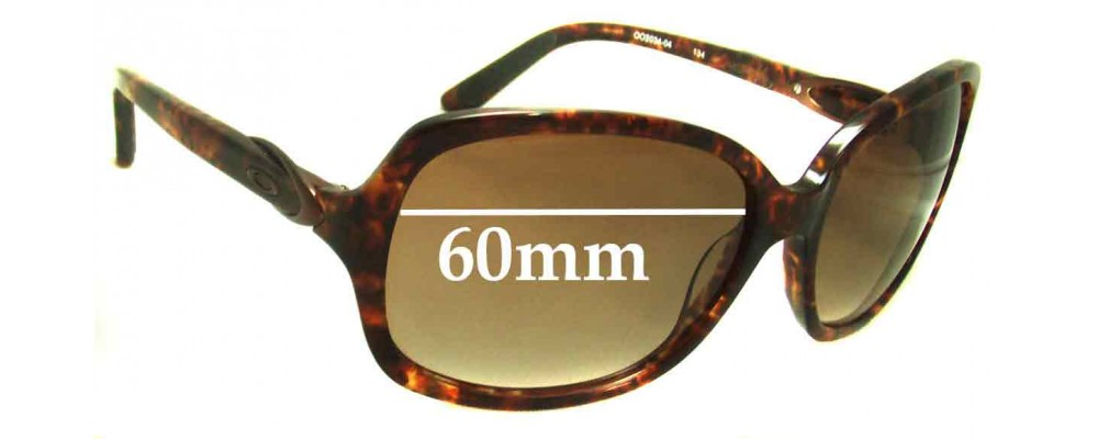 Oakley Obligation Replacement Sunglass Lenses - 60mm Wide