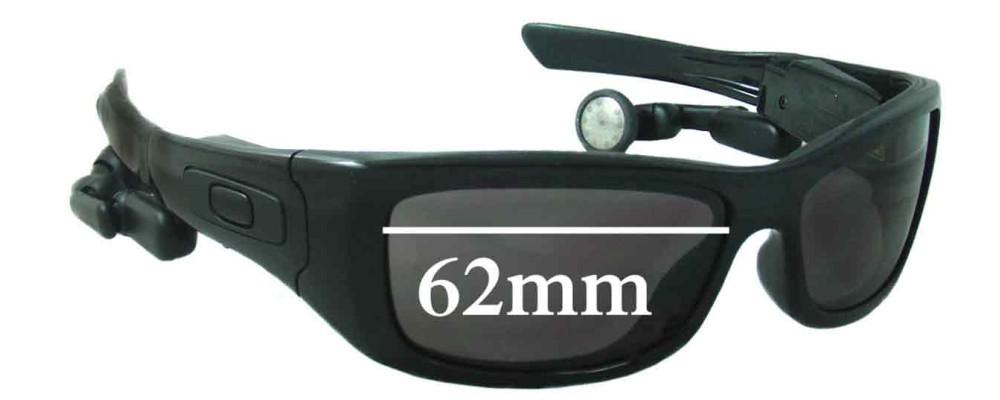 Oakley Split Thump Replacement Sunglass Lenses - 62mm wide