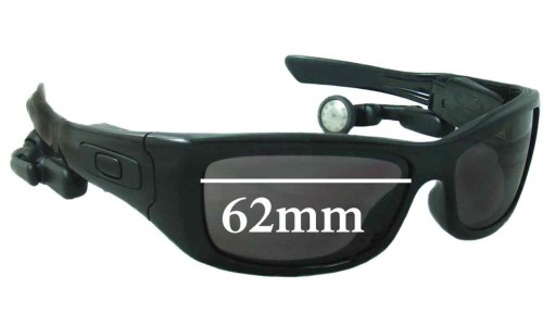 Oakley Split Thump Replacement Sunglass Lenses - 62mm wide