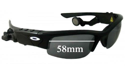 Oakley Thump Pro Replacement Sunglass Lenses - 58mm wide