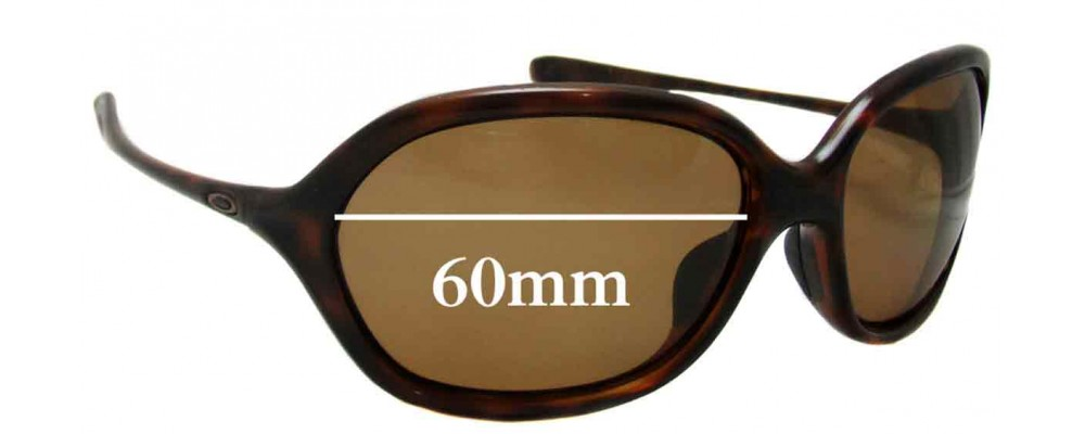 Oakley Warm Up Replacement Sunglass Lenses - 60mm wide