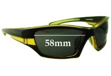Ocean Eyewear Sunglass Replacement Lenses - 58mm Wide