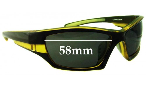 Ocean Eyewear Sunglass Replacement Lenses - 58mm Wide