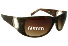 Oroton Glamorous Replacement Sunglass Lenses - 60mm Wide