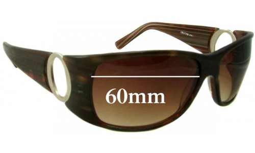 Oroton Glamorous New Sunglass Lenses - 60mm Wide
