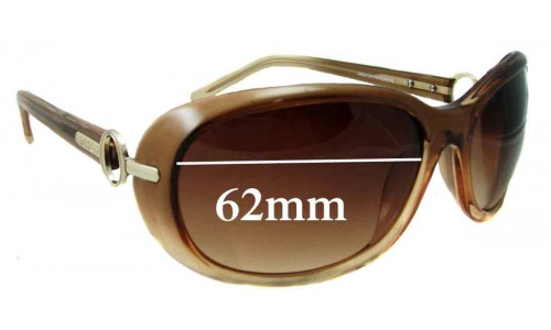Oroton Paradise Replacement Sunglass Lenses - 62mm Wide