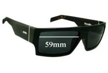 Otis Deville Replacement Sunglass Lenses - 59mm wide