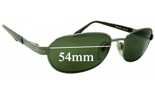 Persol 2079-S Replacement Sunglass Lenses - 54mm Wide