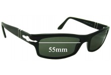 Persol 2831-S Replacement Sunglass Lenses - 55mm Wide