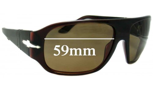 Persol 2839S Replacement Sunglass Lenses - 59mm wide