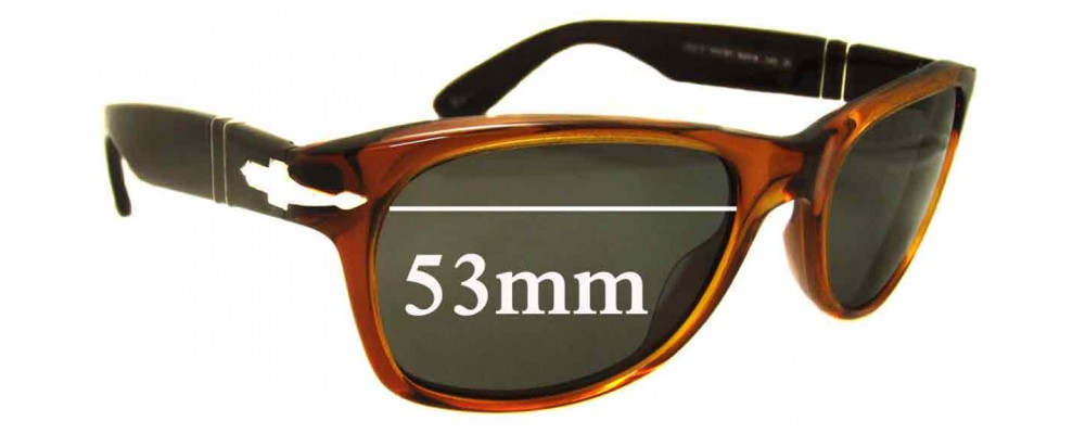 cd09733d69 Persol 2953-S Replacement Lenses 53mm by The Sunglass Fix®