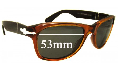 Persol 2953-S Replacement Sunglass Lenses - 53mm wide