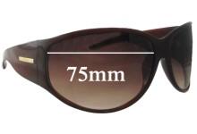 Pilgrim Danish Design Sunglass Replacement Lenses - 75mm wide